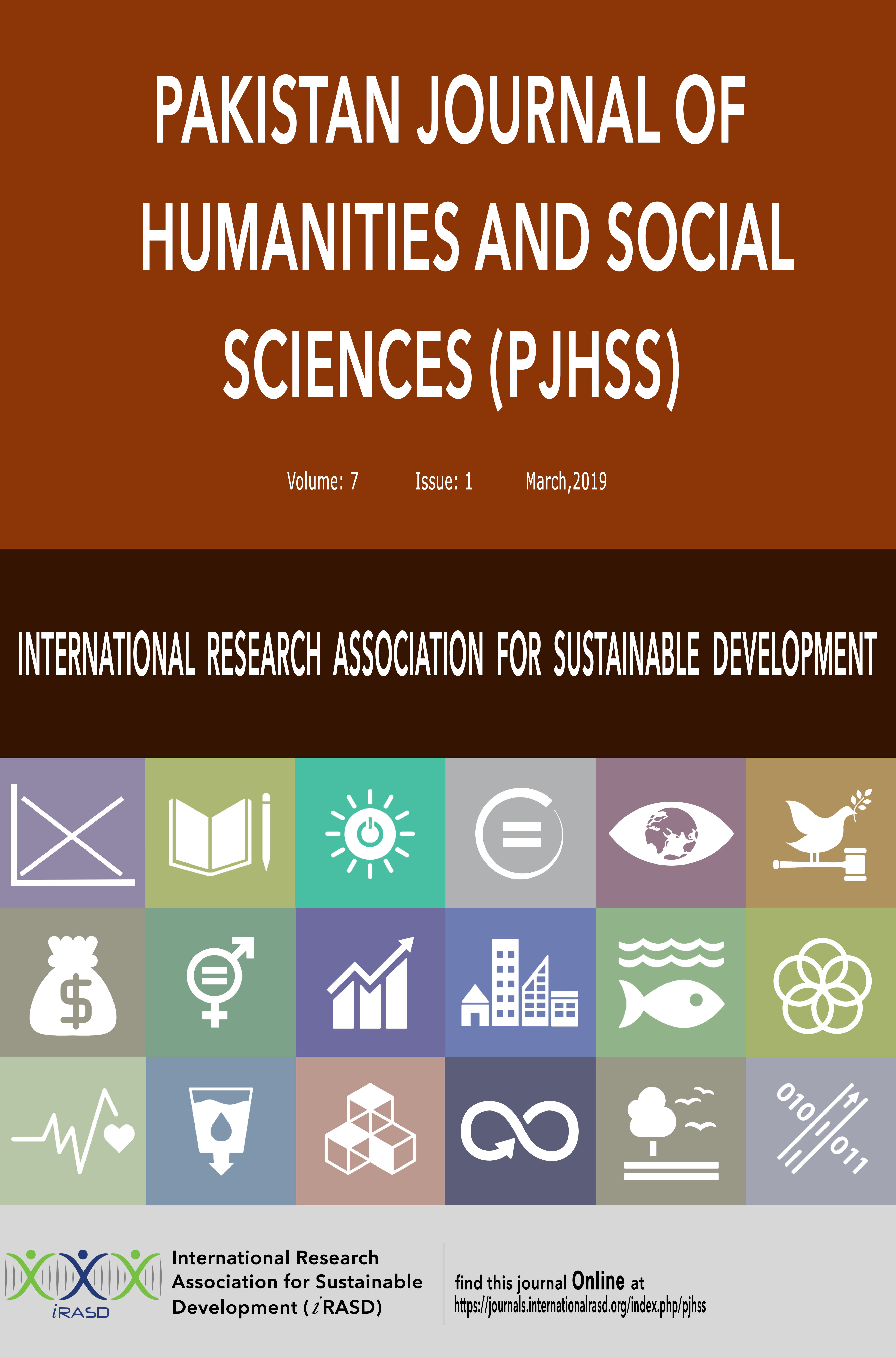 Pakistan Journal of Humanities and Social Sciences - PJHSS