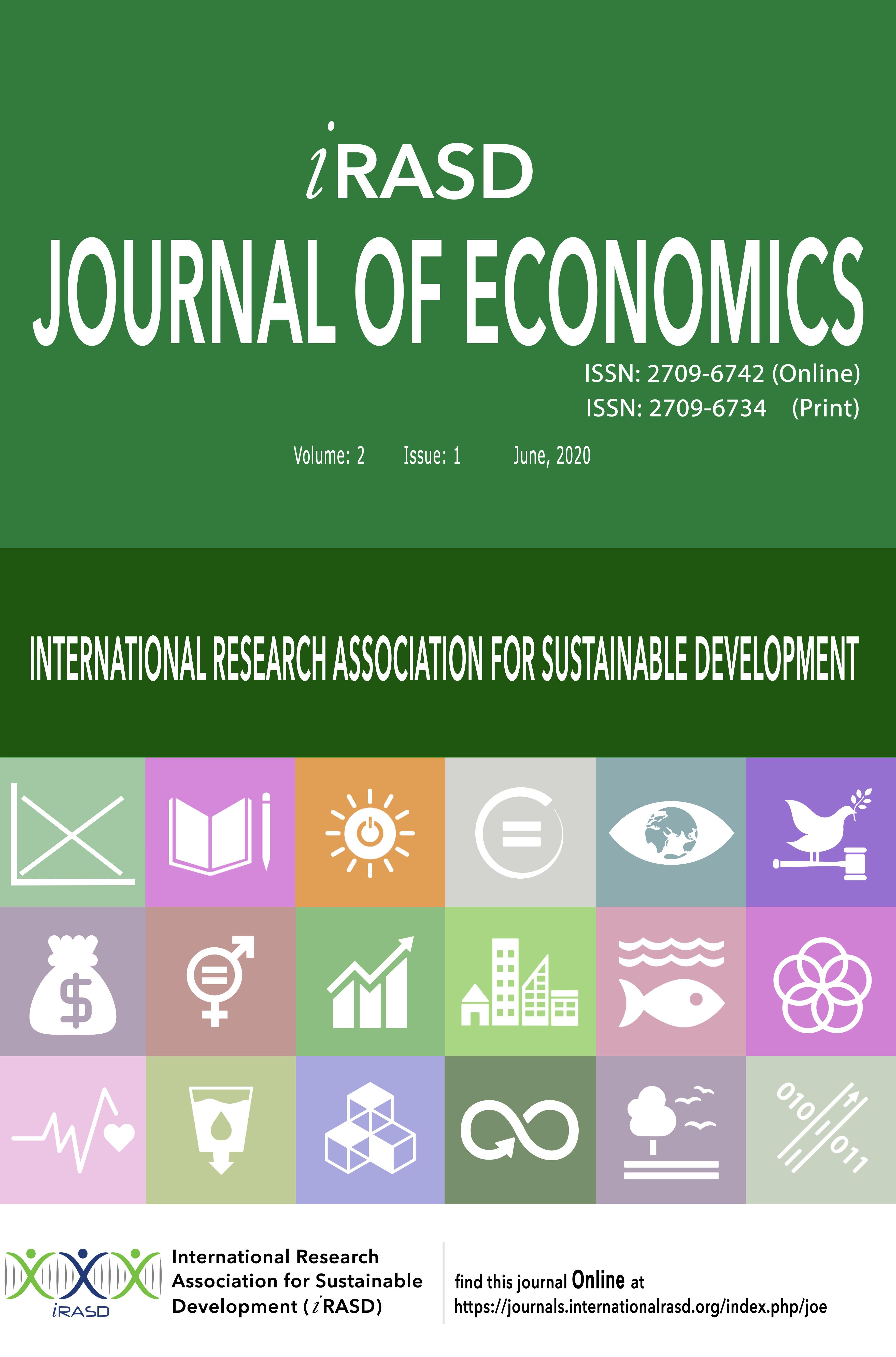 iRASD Journal of Economics (JOE)